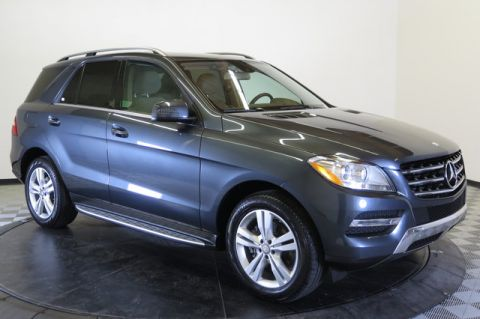 Certified Pre-Owned 2014 Mercedes-Benz 4MATIC® 4dr ML 350 BlueTEC All Wheel Drive 4MATIC Sport Utility