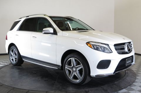 Certified Pre-Owned 2016 Mercedes-Benz 4MATIC® 4dr GLE 400 All Wheel Drive 4MATIC Sport Utility