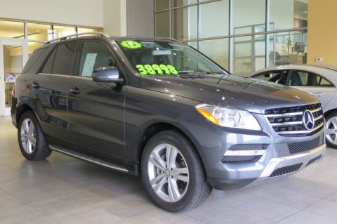Certified Pre-Owned 2014 Mercedes-Benz M-Class ML 350 4MATIC®