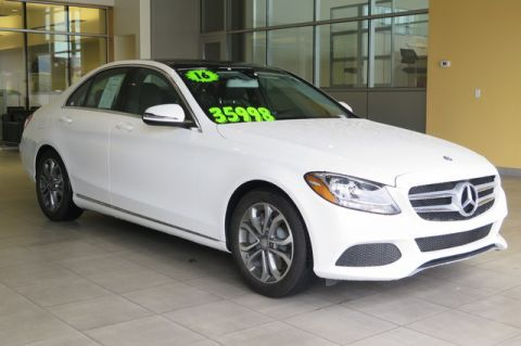 Certified Pre-Owned 2016 Mercedes-Benz C-Class 4dr Sdn C 300 RWD Rear Wheel Drive 4dr Car