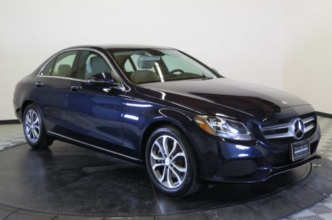 Certified Pre-Owned 2017 Mercedes-Benz C 300 Rear Wheel Drive 4dr Car