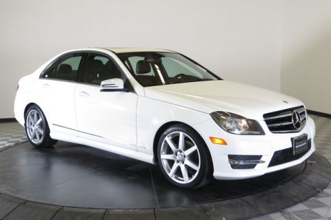 Certified Pre-Owned 2014 Mercedes-Benz 4dr Sdn C 250 Sport RWD Rear Wheel Drive 4dr Car