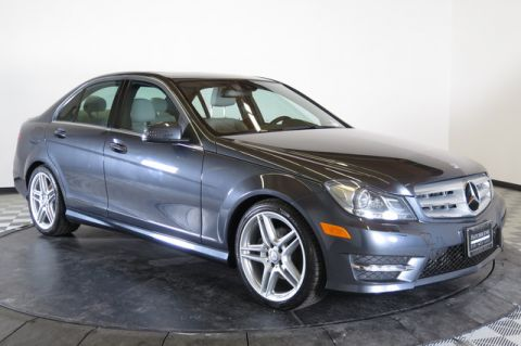 Pre-Owned 2013 Mercedes-Benz C250 Sport Rear Wheel Drive 4dr Car