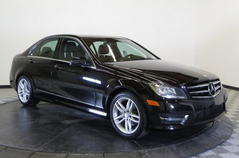 Certified Pre-Owned 2014 Mercedes-Benz C 250 Sport Rear Wheel Drive 4dr Car
