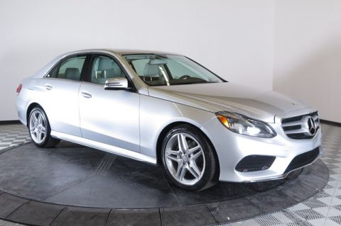 Certified Pre-Owned 2014 Mercedes-Benz E350 Sport Rear Wheel Drive 4dr Car