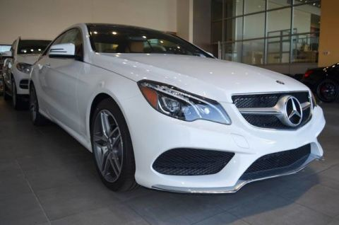 New 2017 Mercedes-Benz E 400 RWD Coupe Rear Wheel Drive Coupe