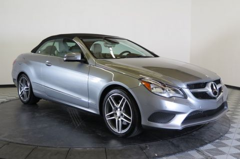 Certified Pre-Owned 2014 Mercedes-Benz 2dr Cabriolet E 350 RWD Rear Wheel Drive Convertible