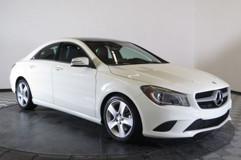 Certified Pre-Owned 2015 Mercedes-Benz CLA250 Front Wheel Drive Coupe
