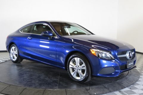 Certified Pre-Owned 2017 Mercedes-Benz C300 Rear Wheel Drive 2dr Car