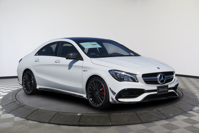 new 2018 mercedes benz cla amg cla 45 4matic coupe coupe. Black Bedroom Furniture Sets. Home Design Ideas