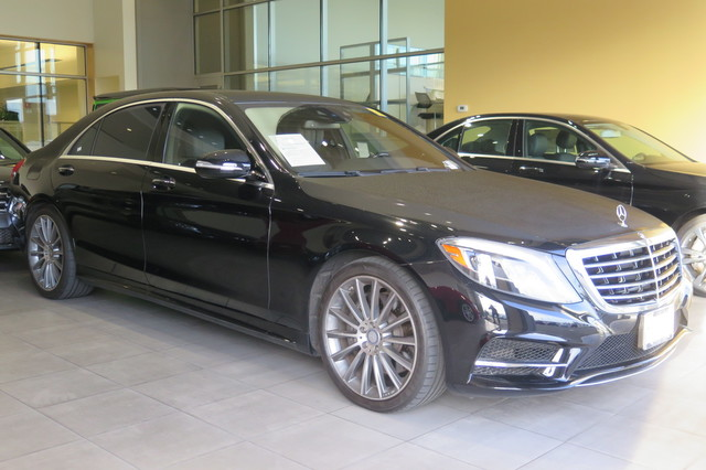 Certified Pre-Owned 2016 Mercedes-Benz S-Class 4dr Sdn S550 RWD