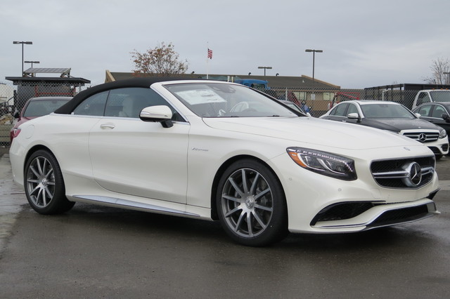 New 2017 mercedes benz s class amg s 63 4matic cabriolet for 2017 mercedes benz s550 lease