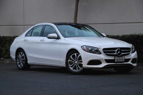 Certified Pre-Owned 2017 Mercedes-Benz C-Class C 300 Sedan