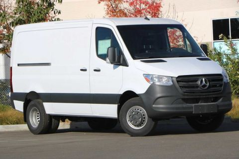 New 2019 Mercedes-Benz Sprinter Cargo Van 3500 High Roof V6 144 RWD