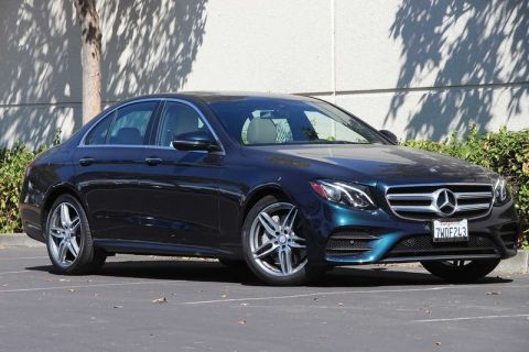 Certified Pre-Owned 2017 Mercedes-Benz E-Class E 300 Sport RWD Sedan